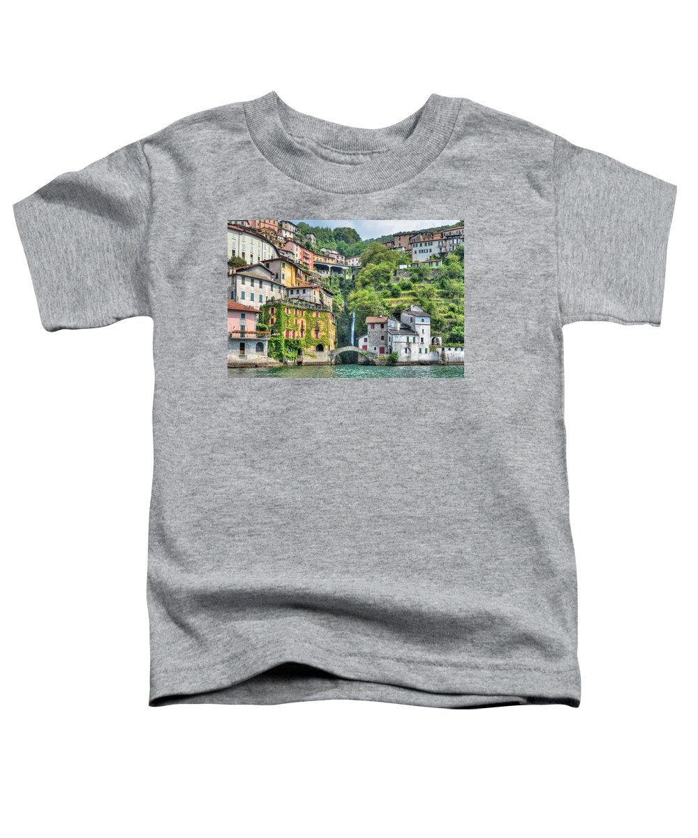 Nesso Toddler T-Shirt featuring the photograph Nesso - Italy 1 by Joana Kruse