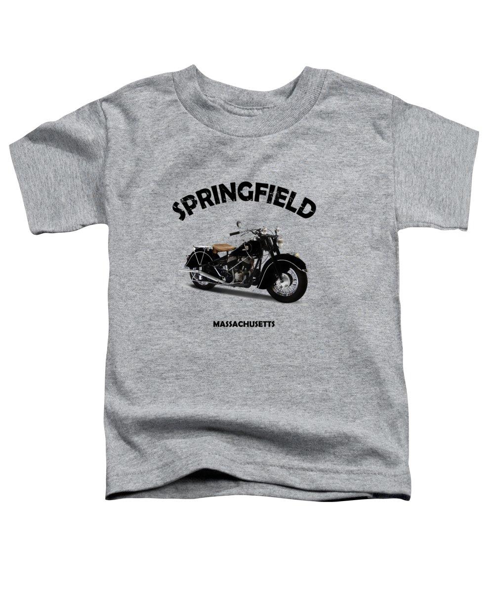 Vintage Motorcycle Photographs Toddler T-Shirts