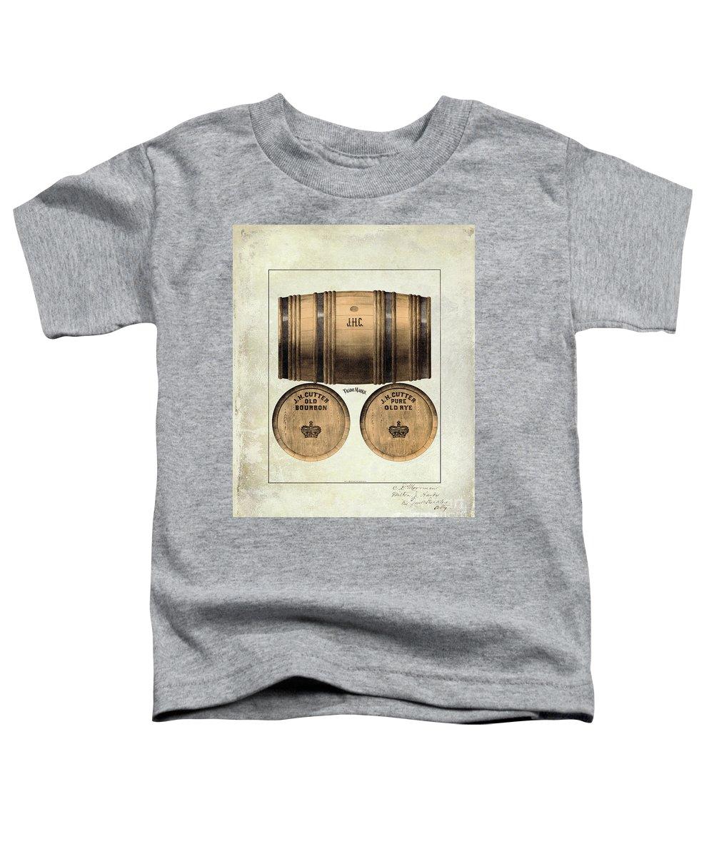 Jh Cutter Toddler T-Shirt featuring the photograph J.h. Cutter Old Bourbon by Jon Neidert