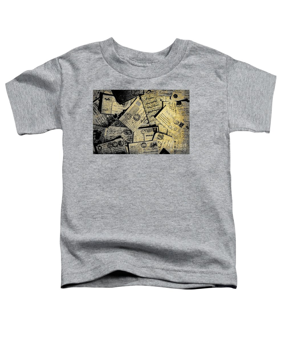 Correspondence Photographs Toddler T-Shirts