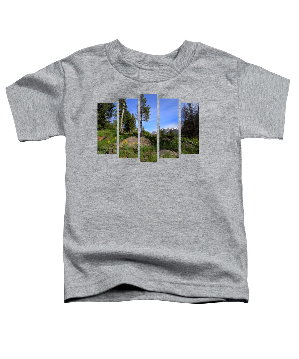Set 51 Toddler T-Shirt featuring the photograph Set 51 by Shane Bechler