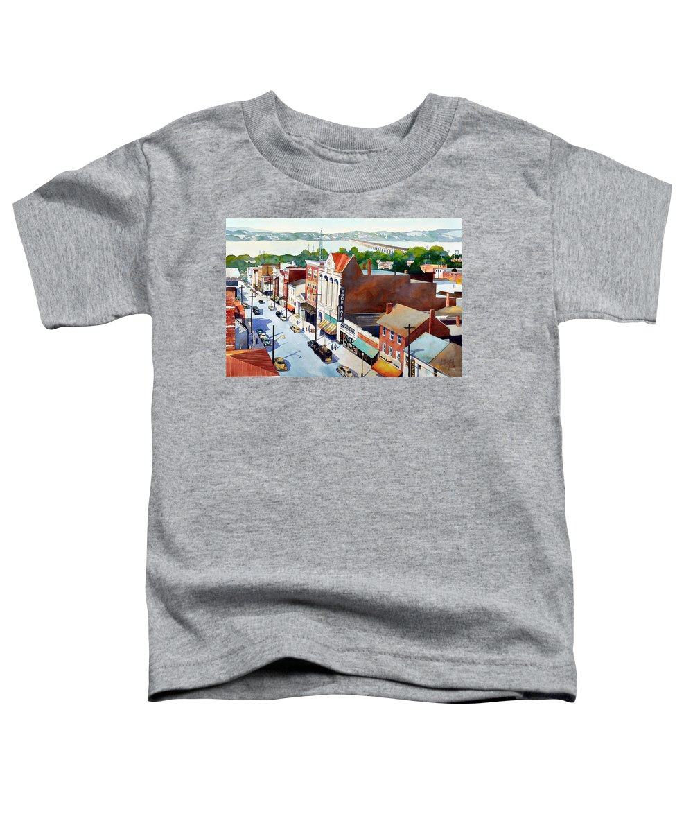 Colorized Paintings Toddler T-Shirts