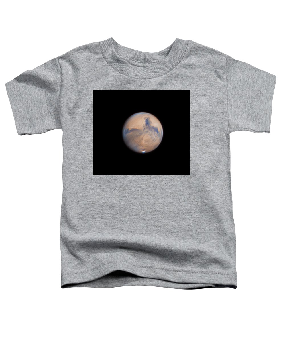 Mars Toddler T-Shirt featuring the photograph Mars from 31st October 2020 by Prabhu Astrophotography