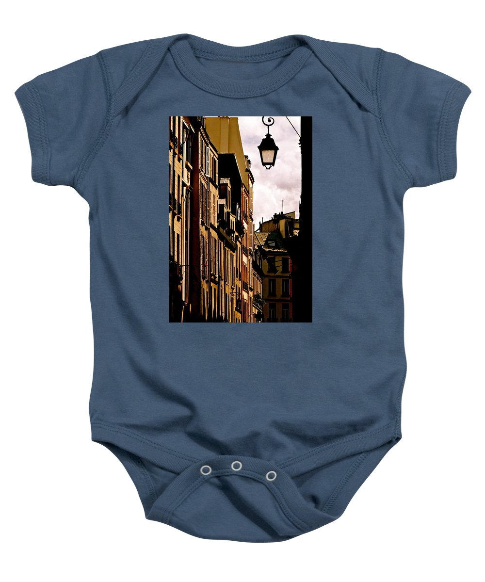 Left Bank Baby Onesie featuring the photograph Ancient Paris by Ira Shander