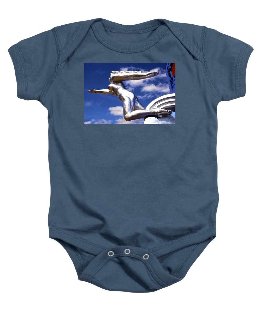 Tenor Baby Onesie featuring the photograph Contralto 3 by Charlie Brock