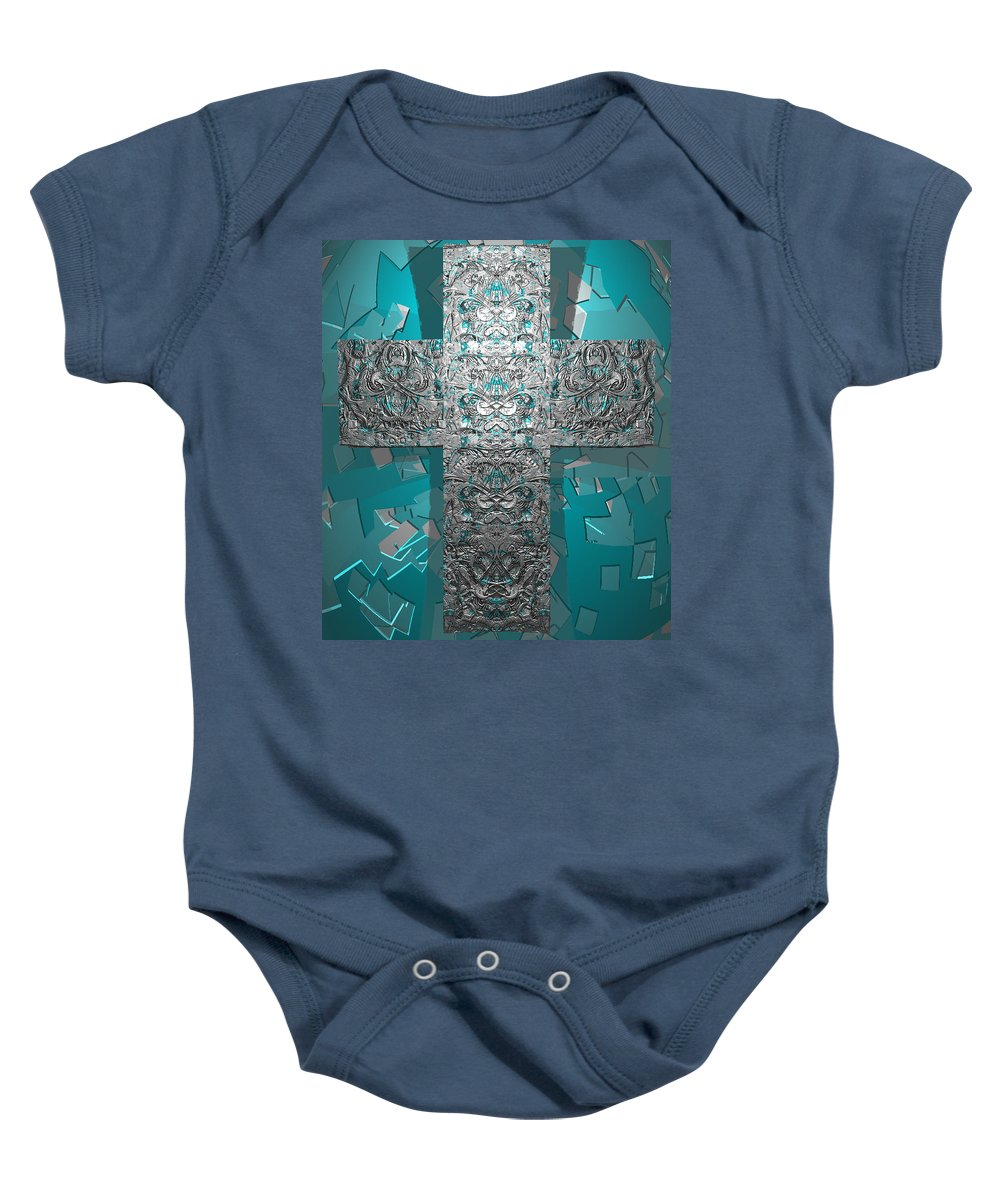 Baby Onesie featuring the digital art Dontsayanything B 14 2 For Rich by Zac AlleyWalker Lowing