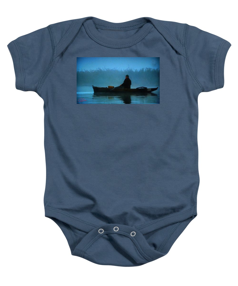 Colette Baby Onesie featuring the photograph Early Morning Lake Joy by Colette V Hera Guggenheim