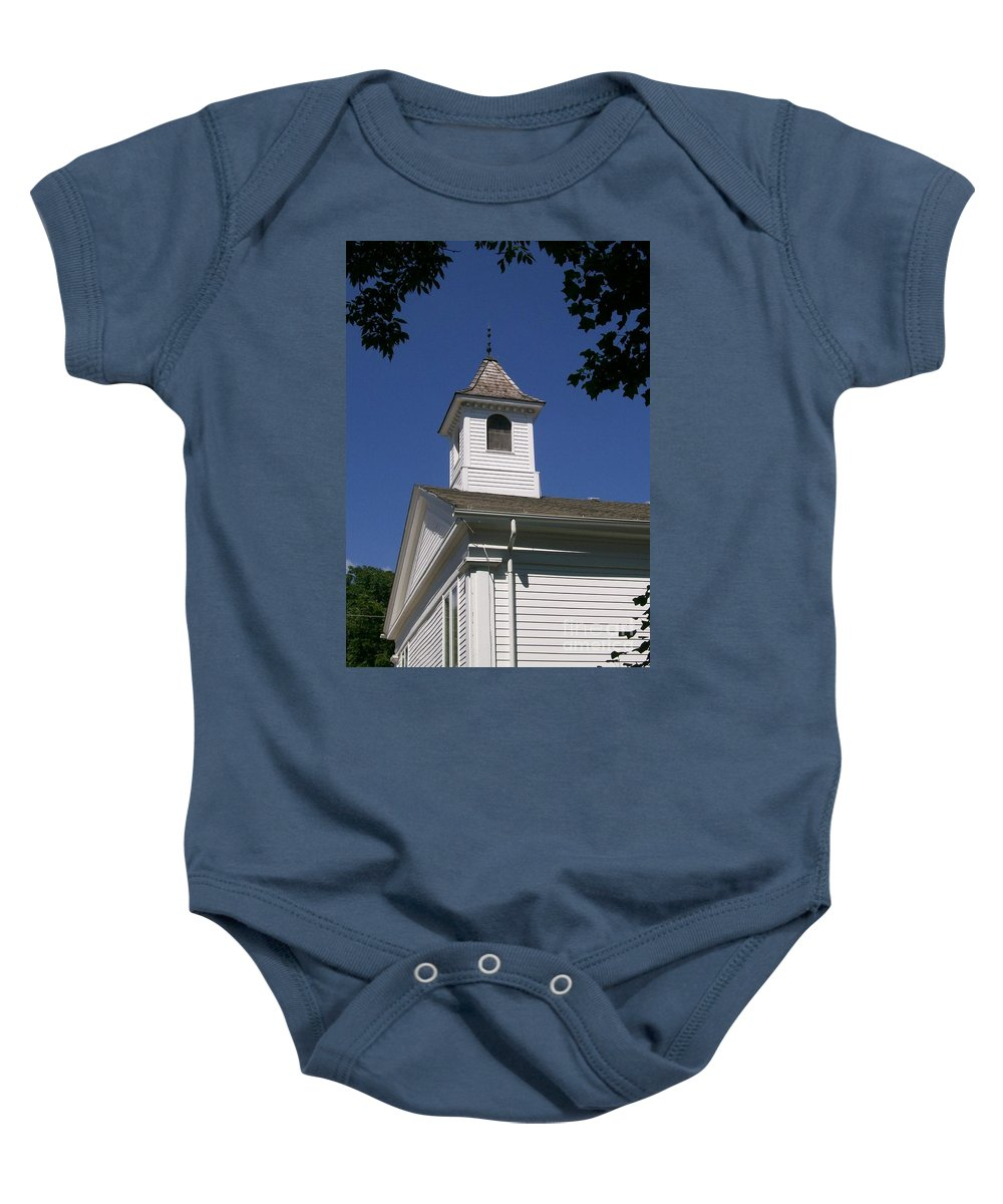 Little Baby Onesie featuring the photograph Listen For The Bell by Laurie Eve Loftin