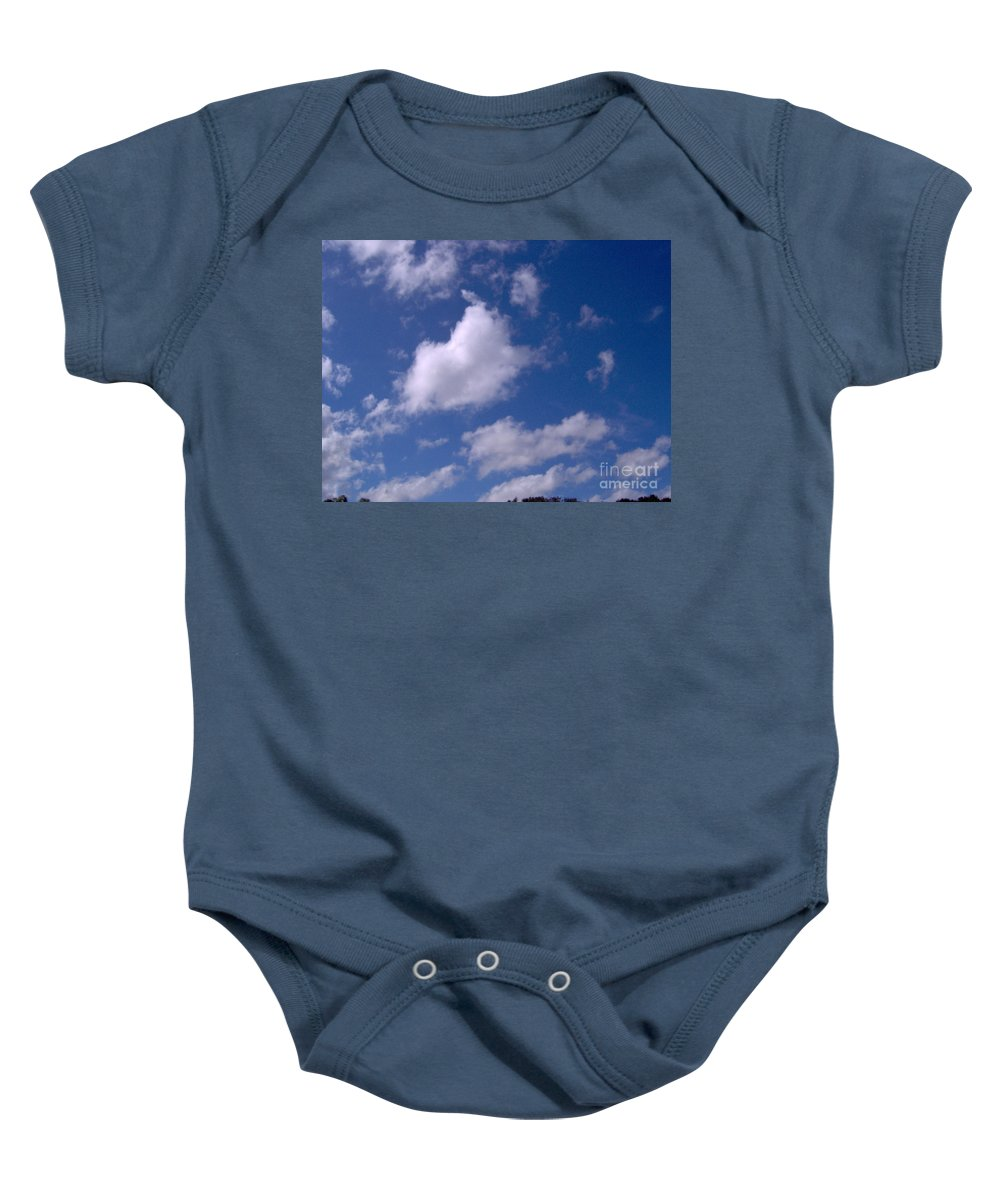 Clouds Baby Onesie featuring the photograph More Clouds by D Hackett