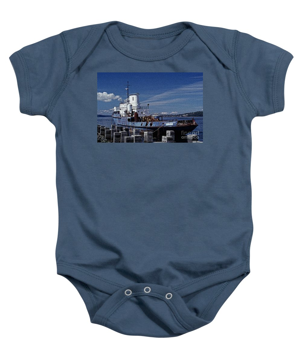 Seascapes Baby Onesie featuring the photograph Northern Retriever 2 by Earl Johnson