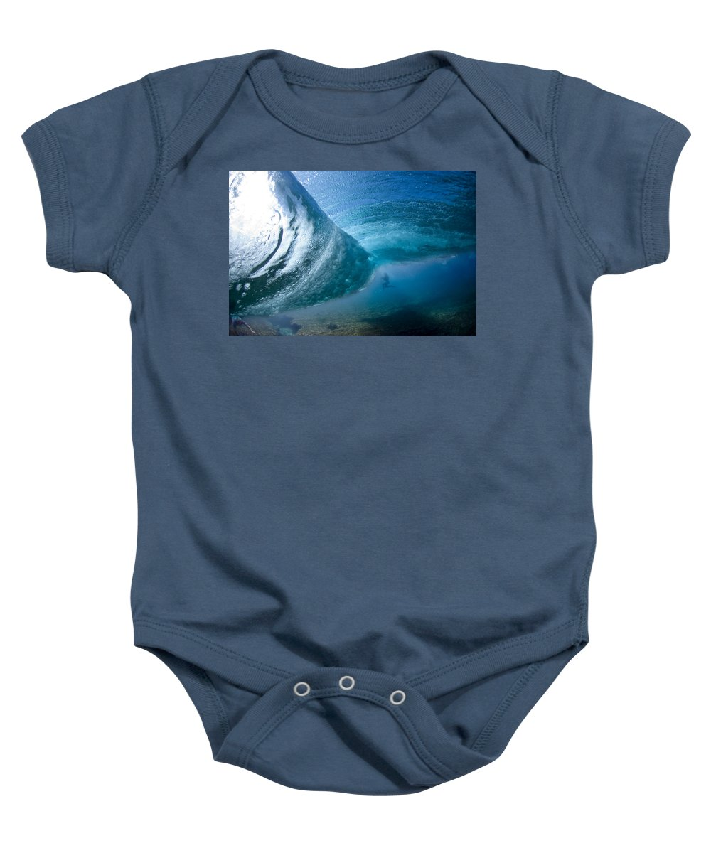 Water Baby Onesie featuring the photograph Octopuss's Garden by Sean Davey