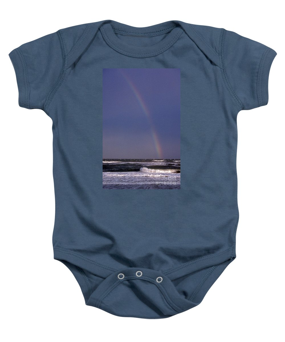 Maritime Baby Onesie featuring the photograph The Pot Of Gold by Skip Willits
