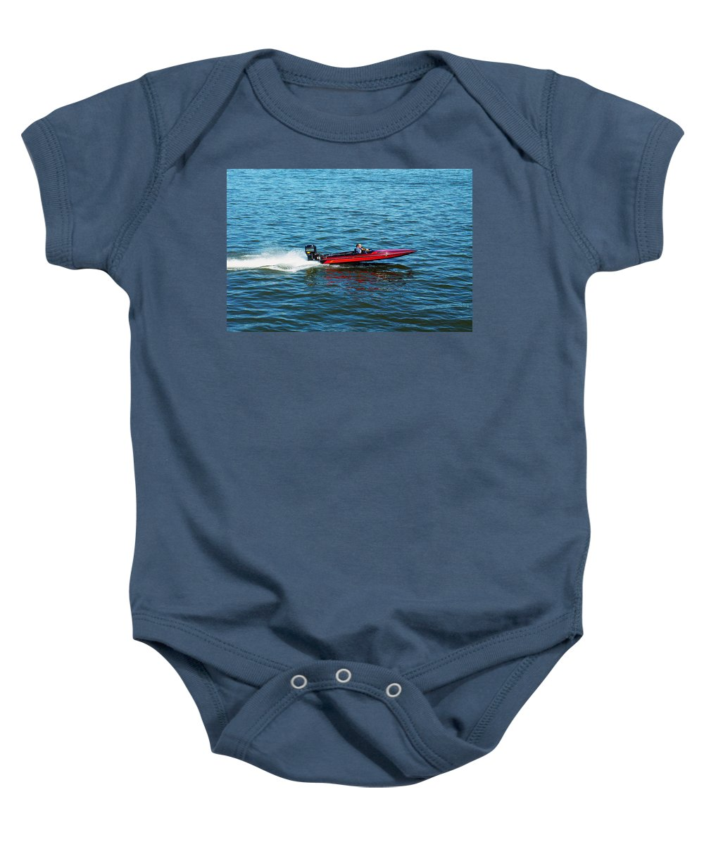 Speed Baby Onesie featuring the photograph Vroom by Pablo Rosales