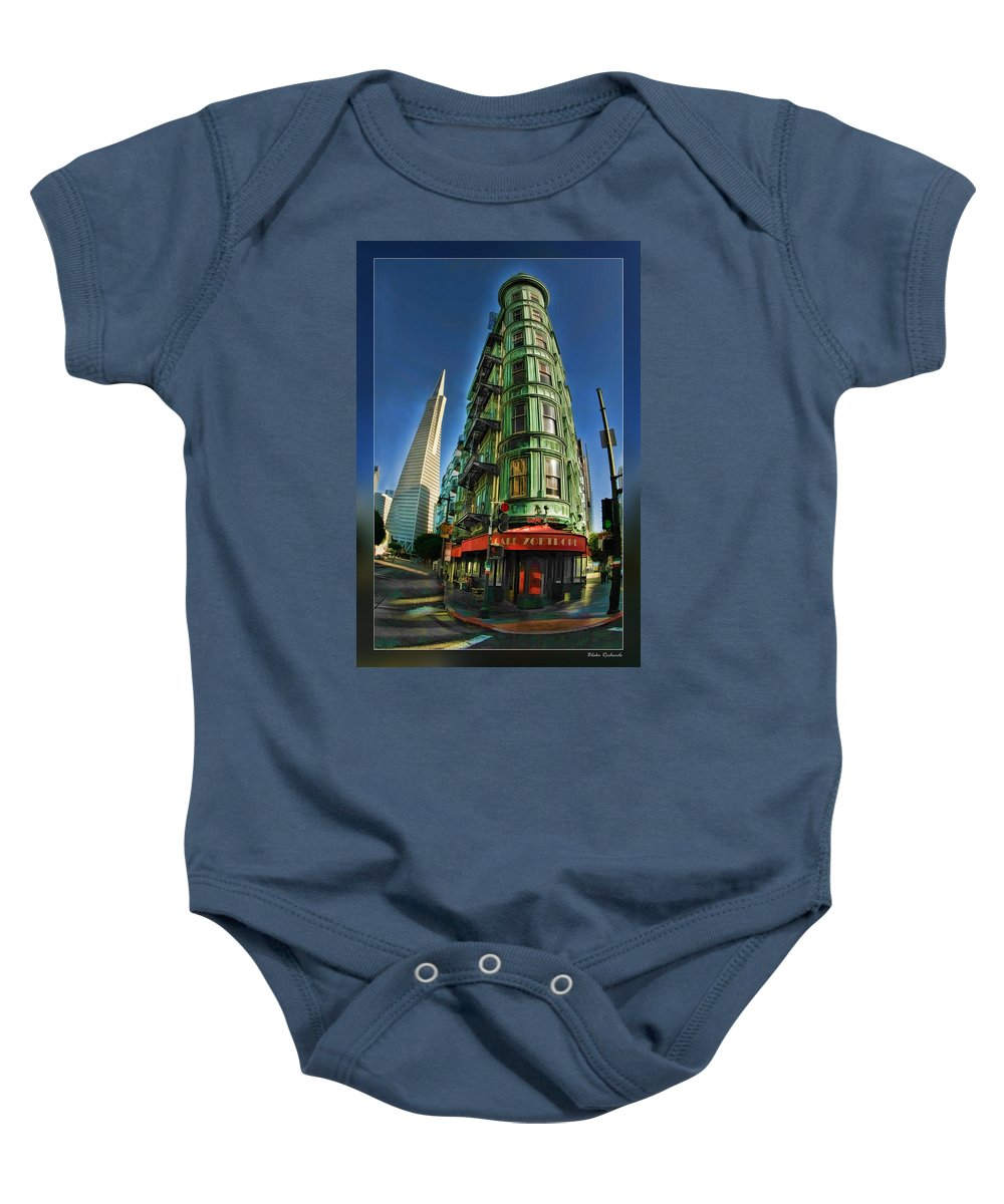 Art Photography Baby Onesie featuring the photograph Cafe Zoetrope by Blake Richards