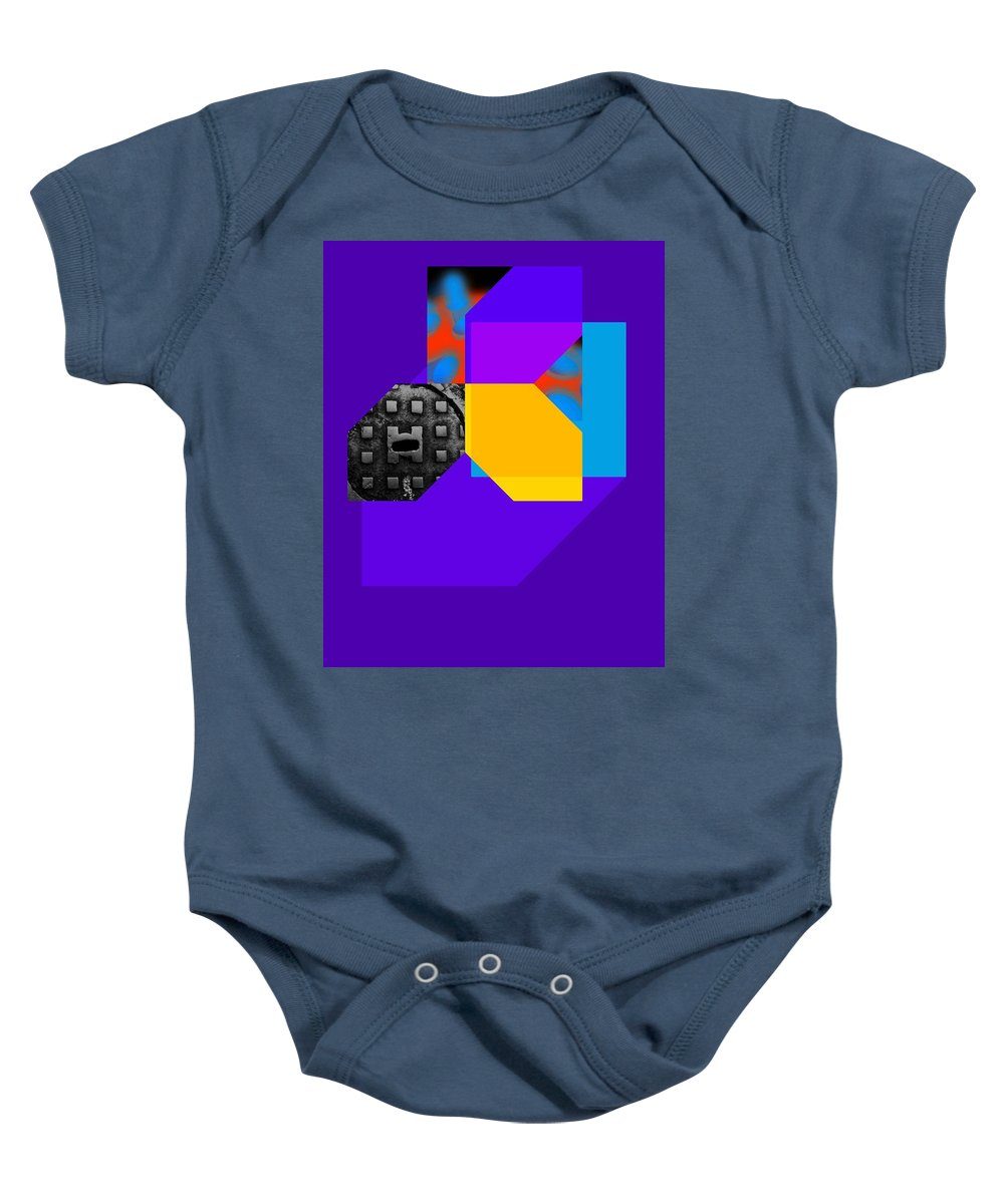 Thirst Baby Onesie featuring the painting Thirst Image by Charles Stuart