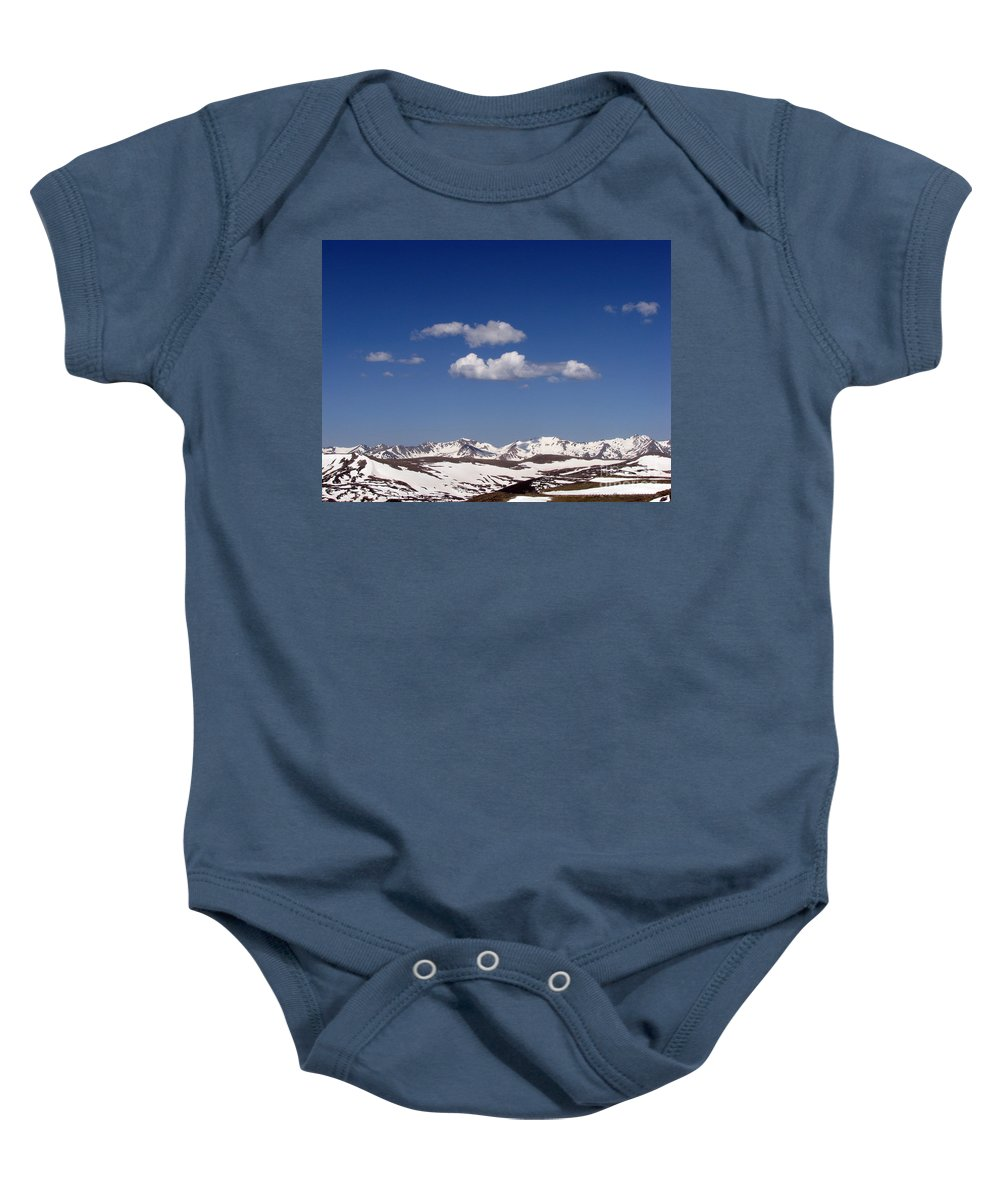 Mountains Baby Onesie featuring the photograph Colorado by Amanda Barcon
