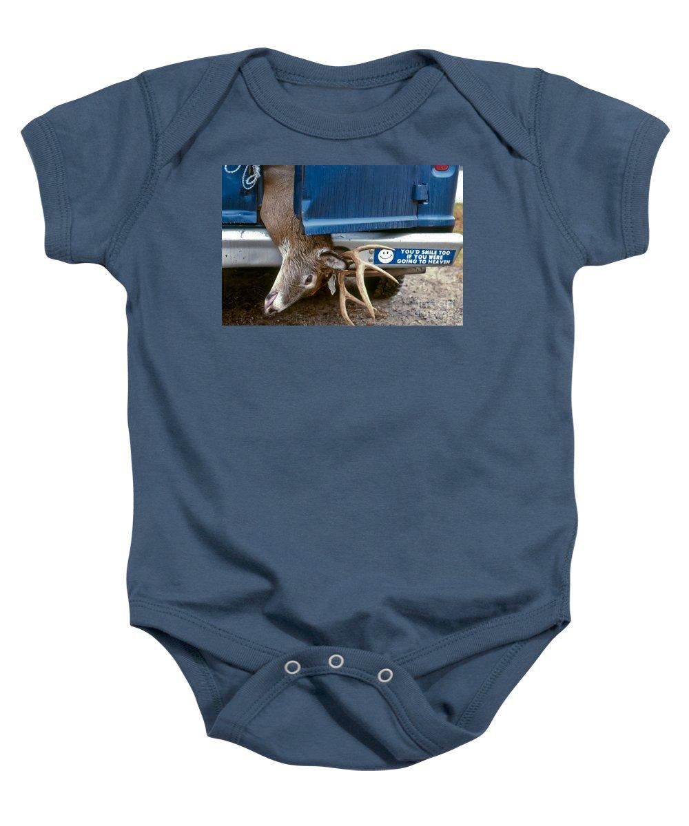 Deer Baby Onesie featuring the photograph Eternal Reward by Thomas Marchessault