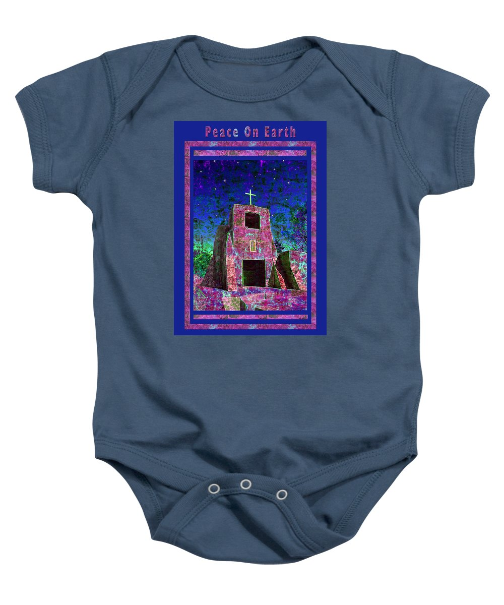 Christmas Baby Onesie featuring the photograph Peace On Earth by Kurt Van Wagner