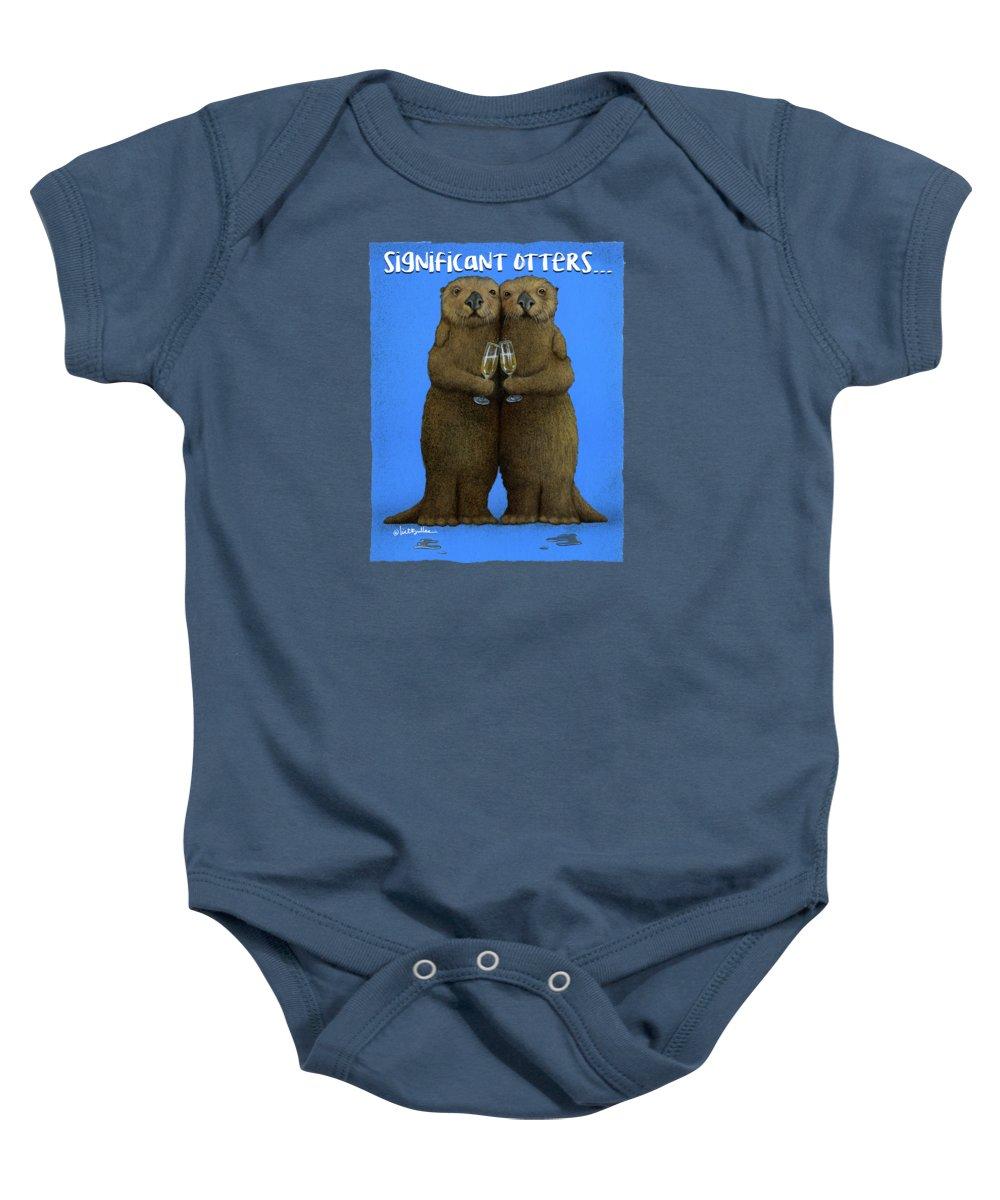 Otter Baby Onesies