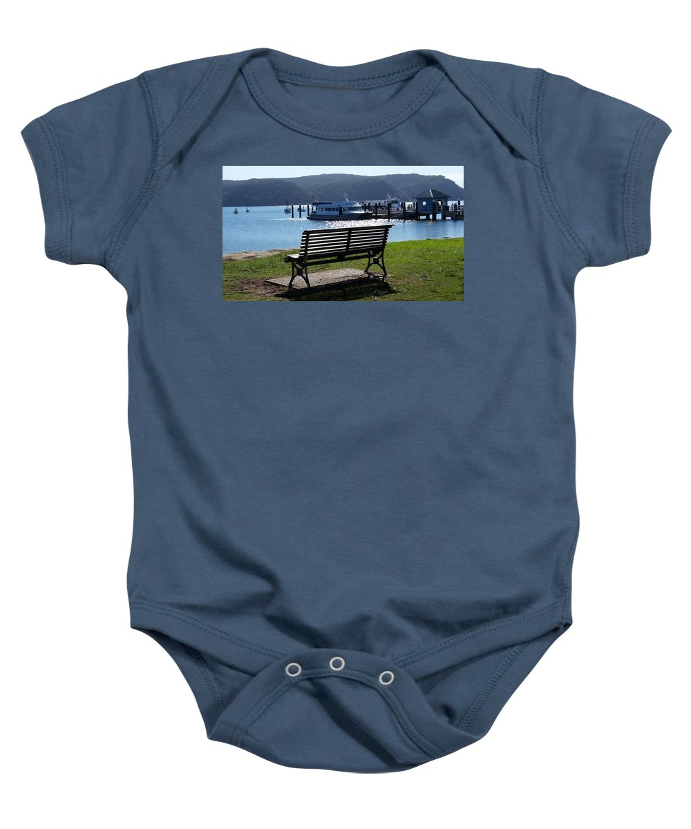 Australia Baby Onesie featuring the photograph Australia - Seat Of Knowledge by Jeffrey Shaw