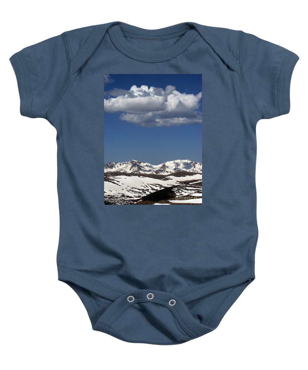 Colorado Baby Onesie featuring the photograph Above It All by Amanda Barcon