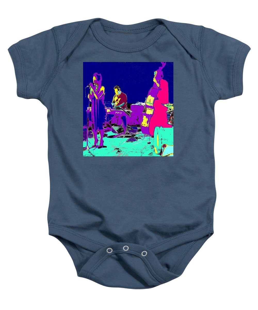 Singer Baby Onesie featuring the photograph All That Jazz by Ian MacDonald
