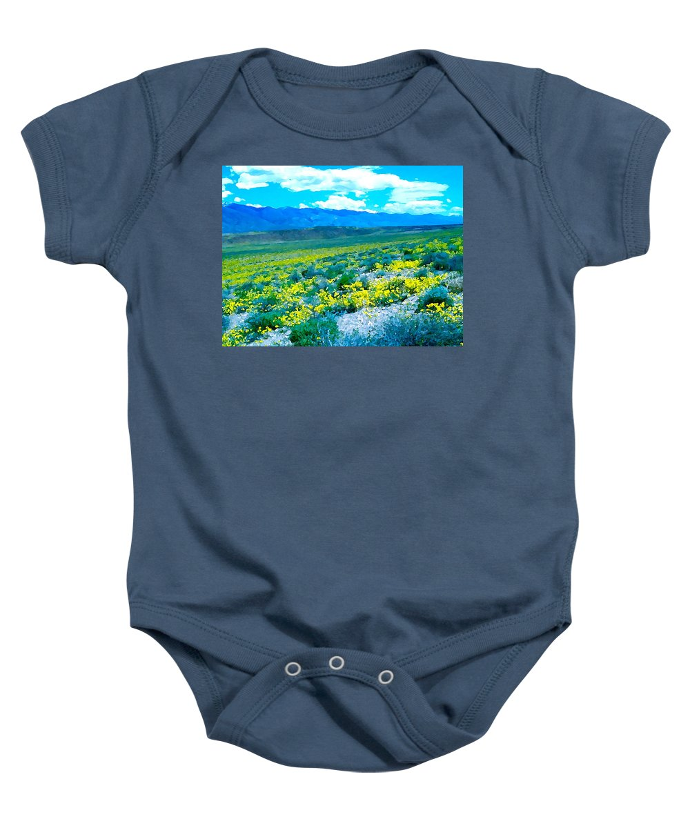 Nature Baby Onesie featuring the photograph Color 57 by Pamela Cooper