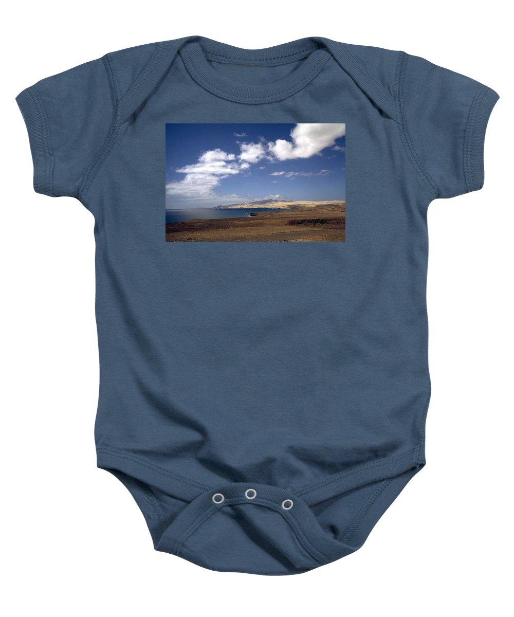 Fuerteventura Baby Onesie featuring the photograph Fuerteventura II by Flavia Westerwelle