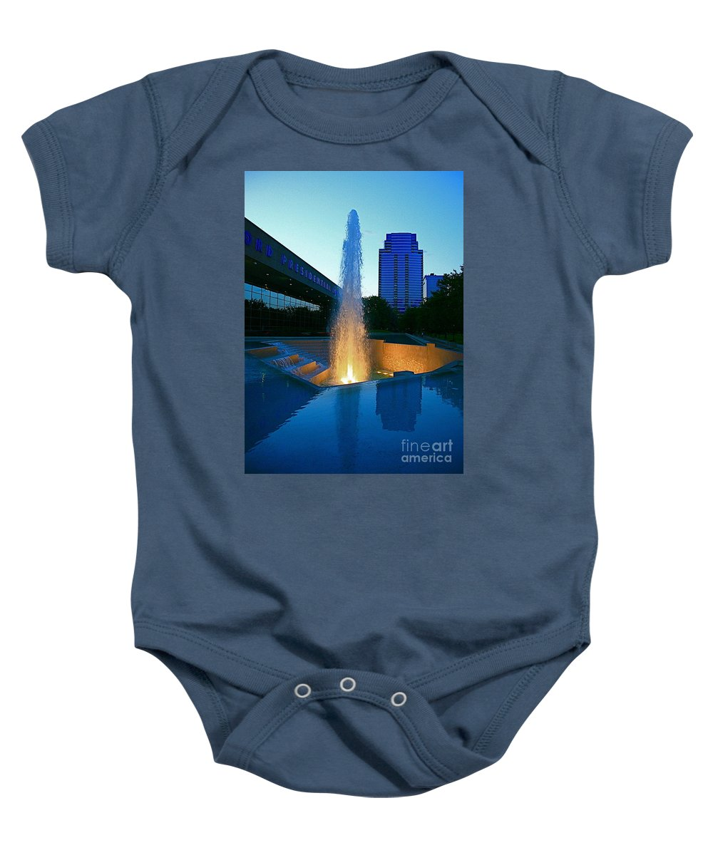 Ford Muesam Baby Onesie featuring the photograph Grand Rapids Mi-2 by Robert Pearson