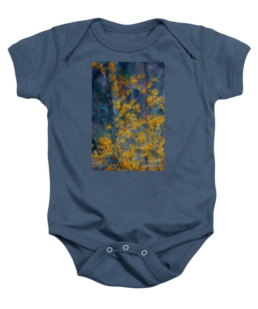 Baby Onesie featuring the photograph In The Woods by David Lane
