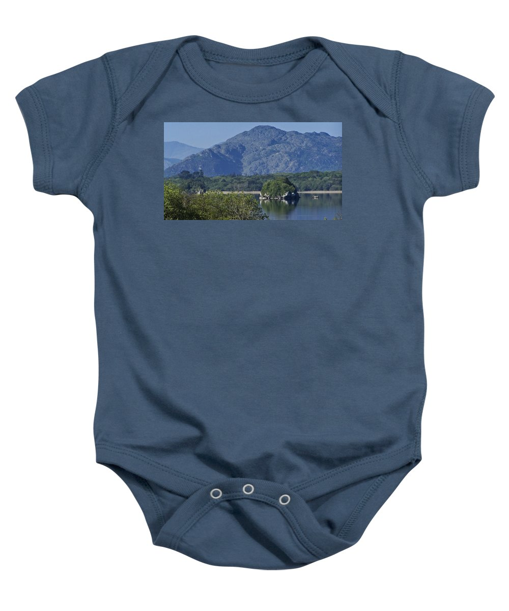 Irish Baby Onesie featuring the photograph Loch Leanne Killarney Ireland by Teresa Mucha