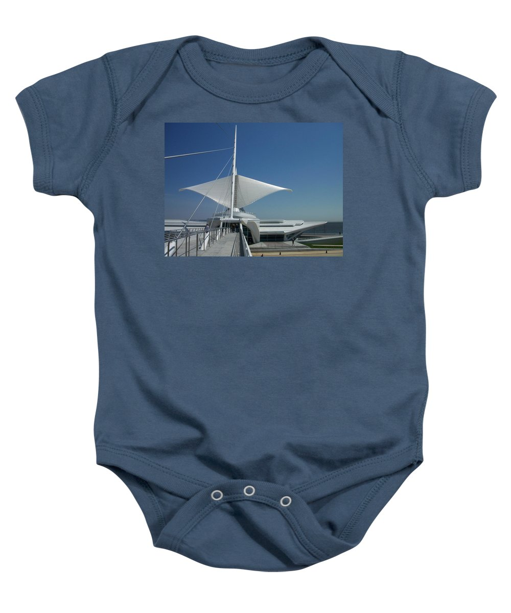 Mam Baby Onesie featuring the photograph Mam Series 3 by Anita Burgermeister