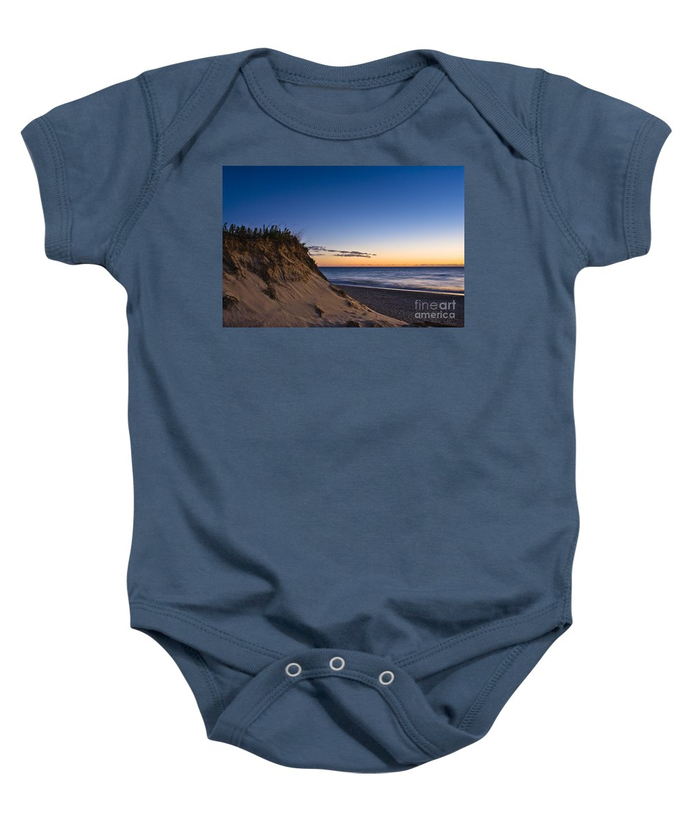 Beach Baby Onesie featuring the photograph Nauset Beach Sunrise by John Greim