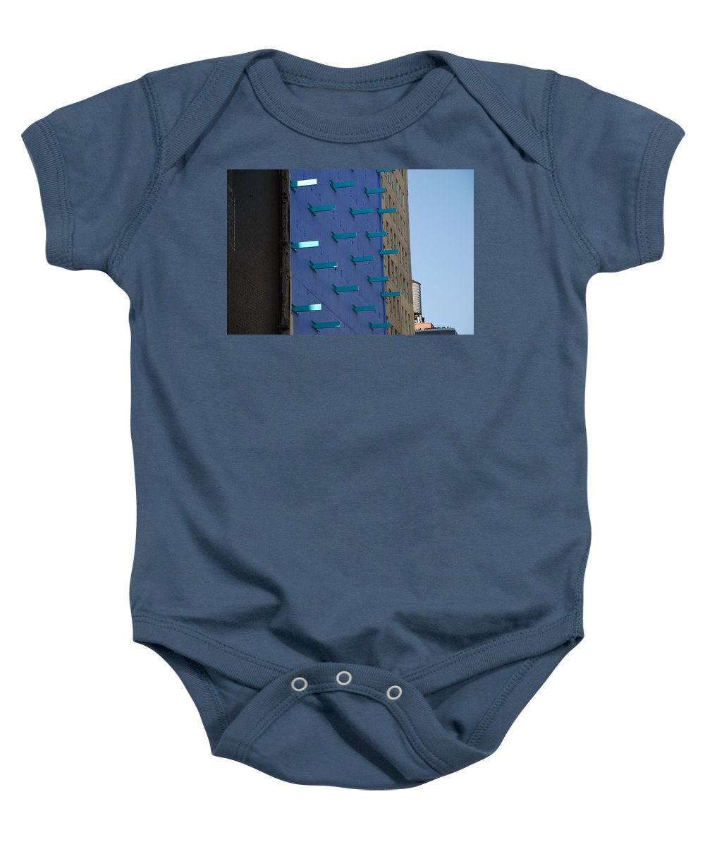 Architecture Baby Onesie featuring the photograph Peg Board by Rob Hans