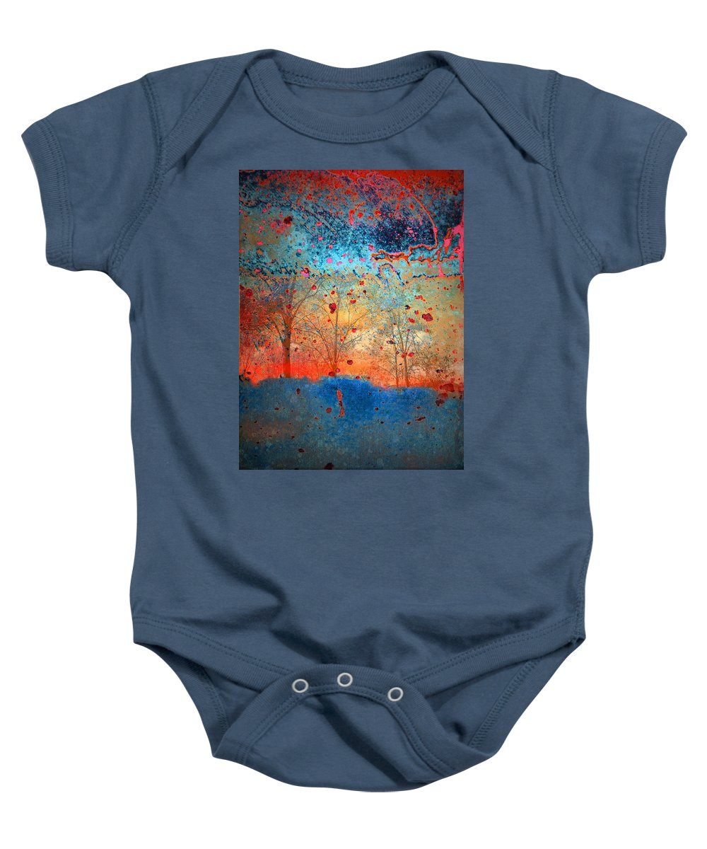 Trees Baby Onesie featuring the photograph Rebirth by Tara Turner
