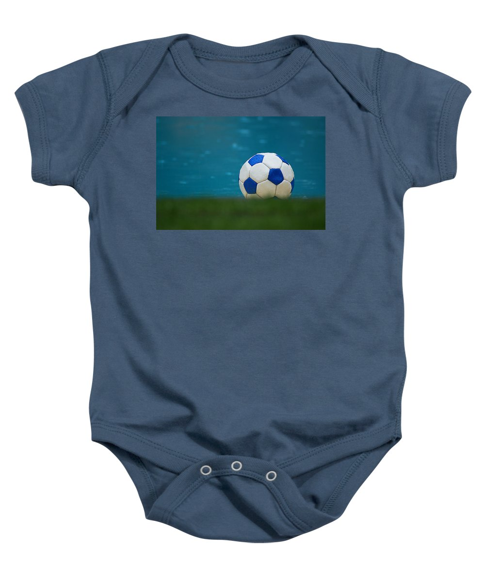 Argentina Baby Onesie featuring the photograph The Beautiful Game by Osvaldo Hamer