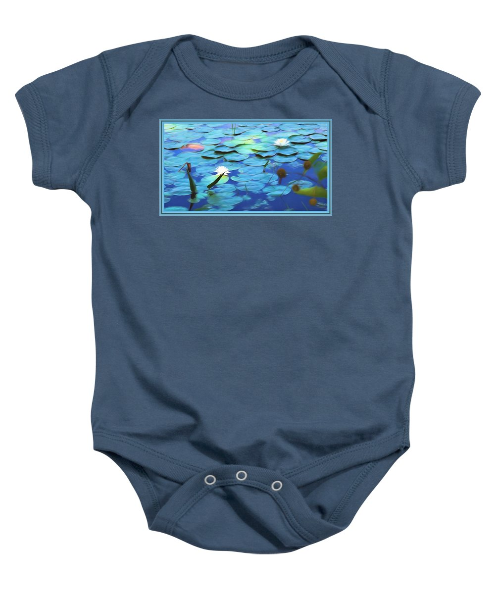 Light Baby Onesie featuring the mixed media The Beauty Of Sunshine by Debra Lynch