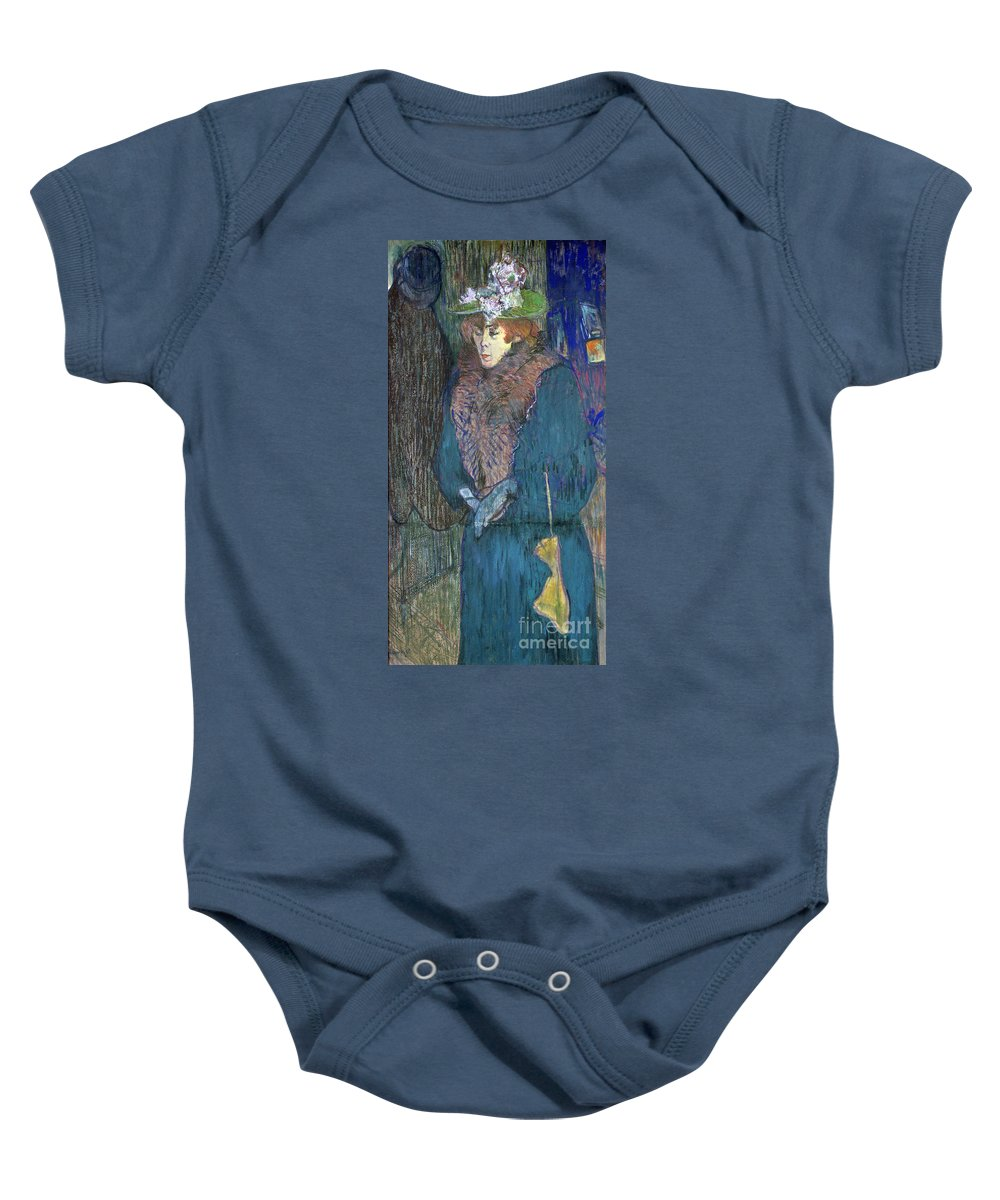 1892 Baby Onesie featuring the photograph Toulouse-lautrec: J.avril by Granger
