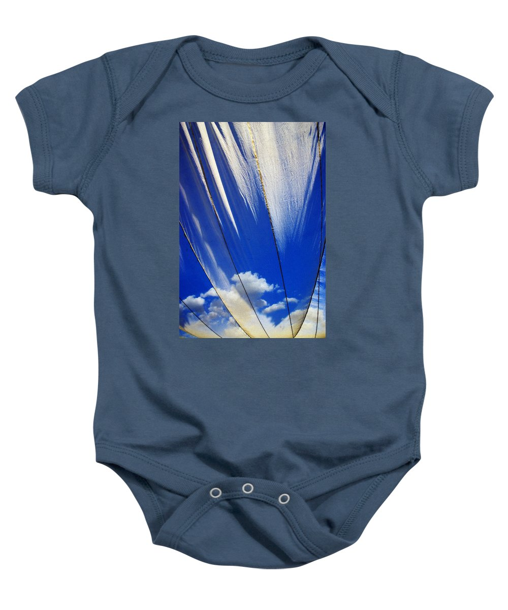 Heavenly Baby Onesie featuring the photograph Heaven by Skip Hunt