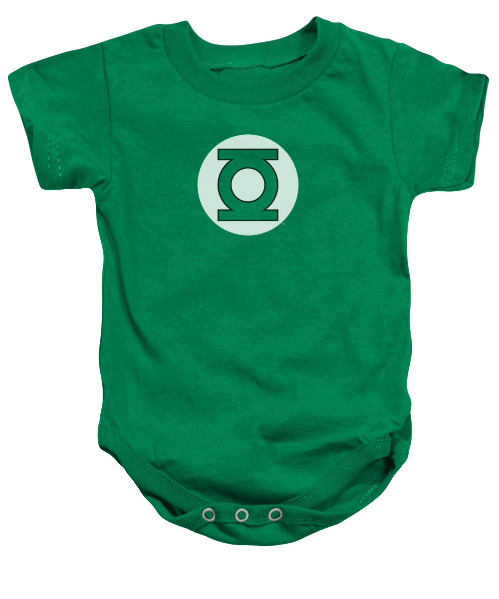 Dc Comics Baby Onesie featuring the digital art by Brand A