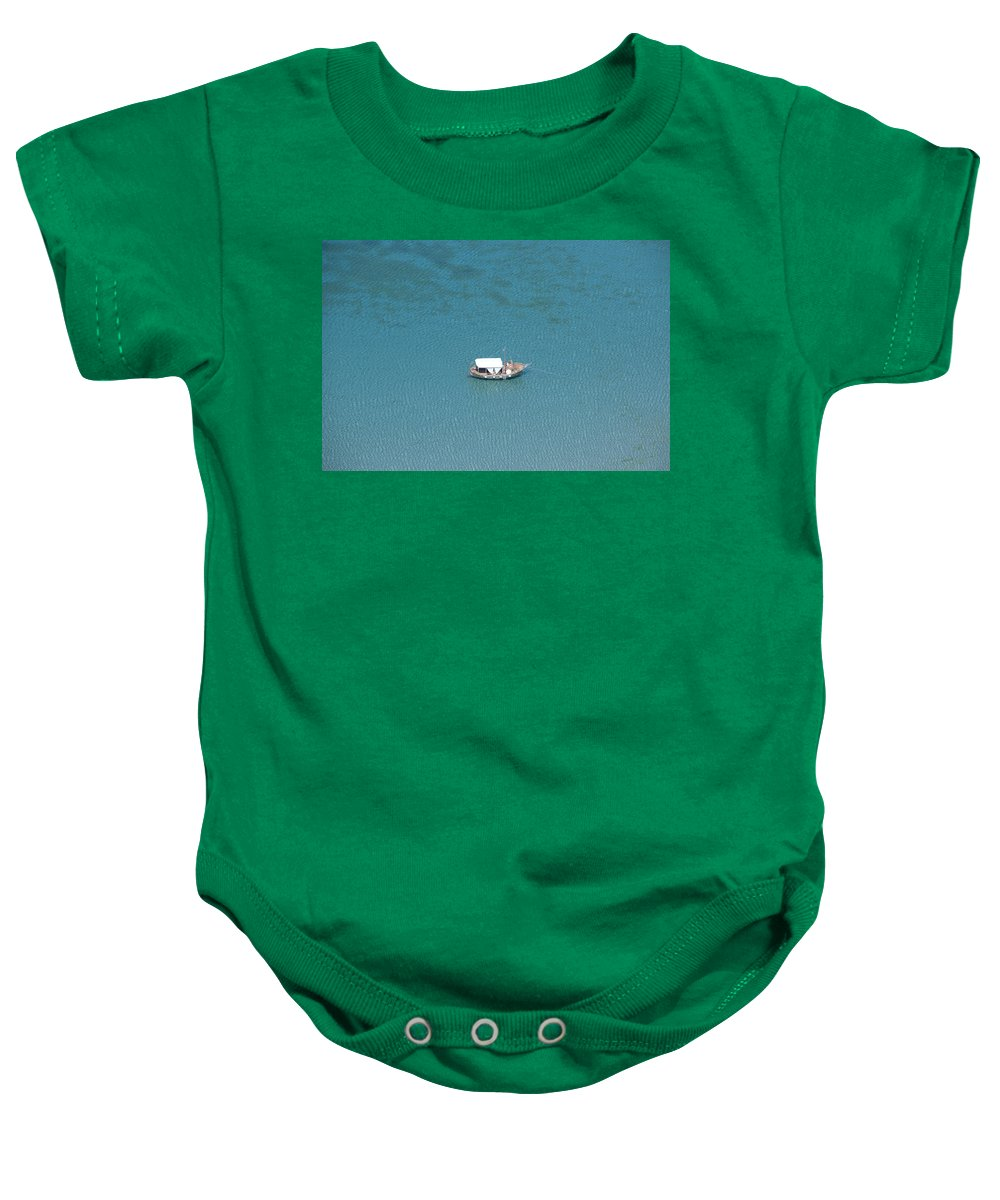 Bulgaria Baby Onesie featuring the photograph Black Sea by Tatyana Baykusheva