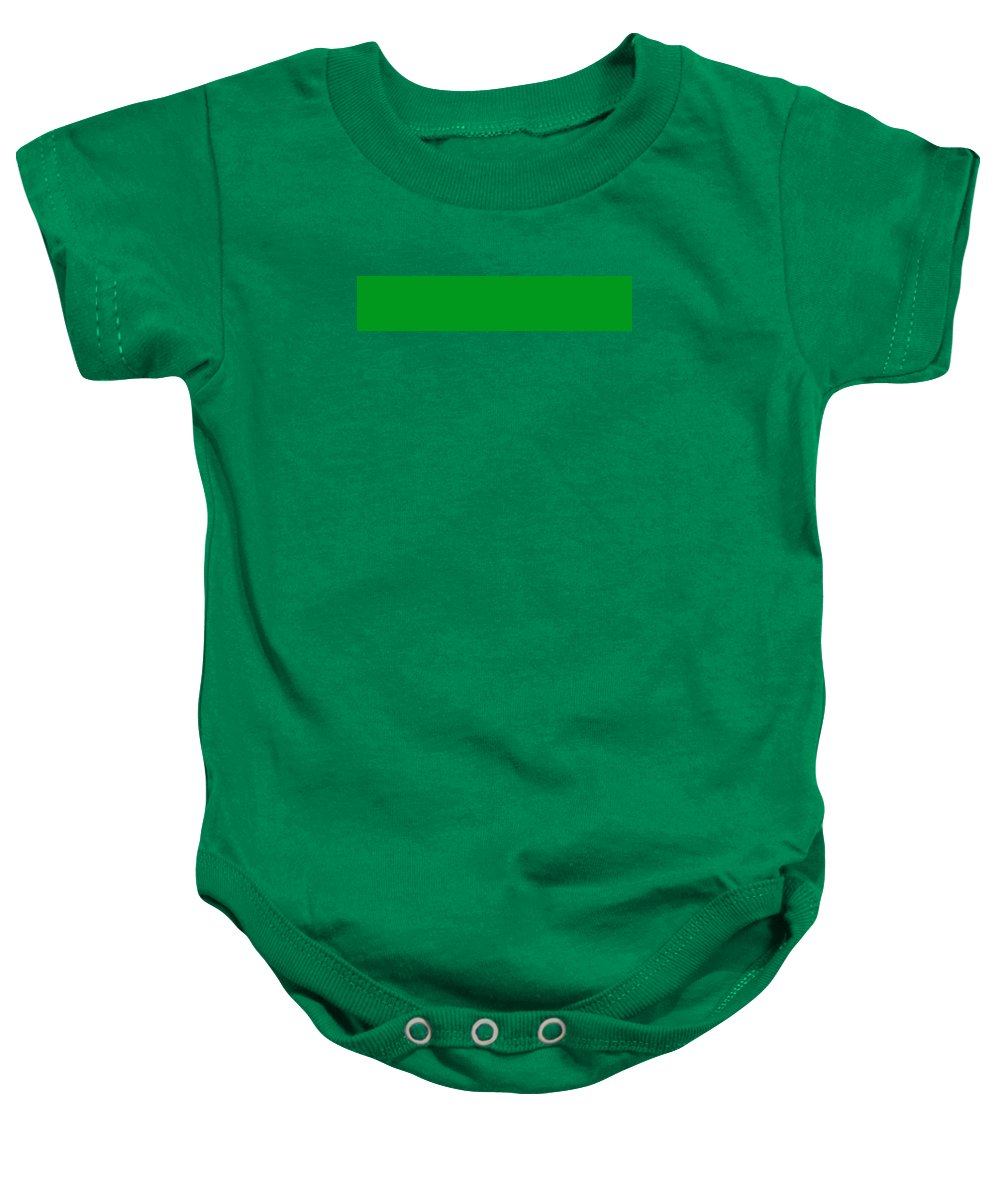Abstract Baby Onesie featuring the digital art C.1.0-153-30.5x1 by Gareth Lewis