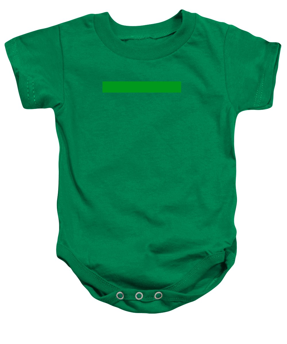 Abstract Baby Onesie featuring the digital art C.1.0-153-30.7x1 by Gareth Lewis