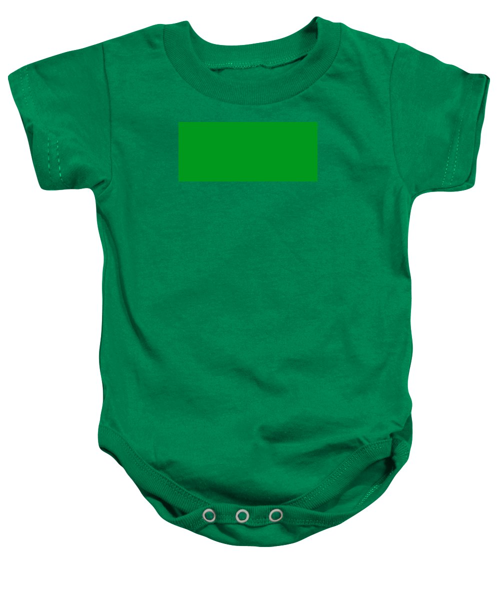 Abstract Baby Onesie featuring the digital art C.1.0-153-30.7x3 by Gareth Lewis