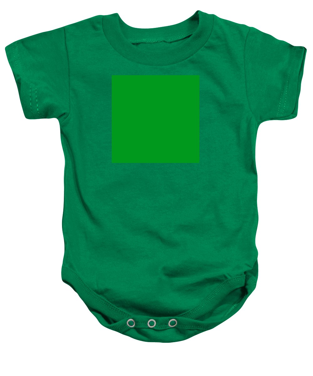 Abstract Baby Onesie featuring the digital art C.1.0-153-30.7x7 by Gareth Lewis