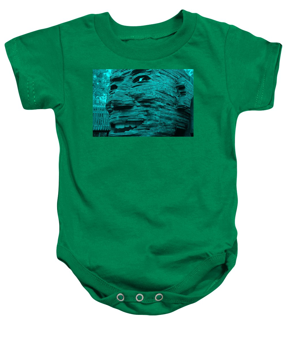 Architecture Baby Onesie featuring the photograph Gentle Giant In Turquois by Rob Hans