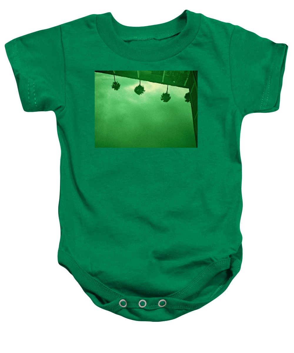 Aurica Voss Baby Onesie featuring the photograph Hollywood Pool by Aurica Voss