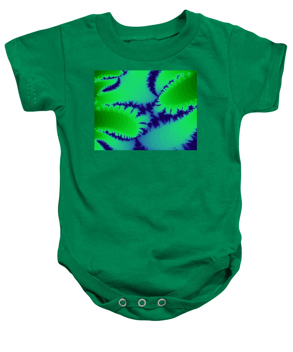 Digital Baby Onesie featuring the photograph Its Fern-like by Renate Nadi Wesley