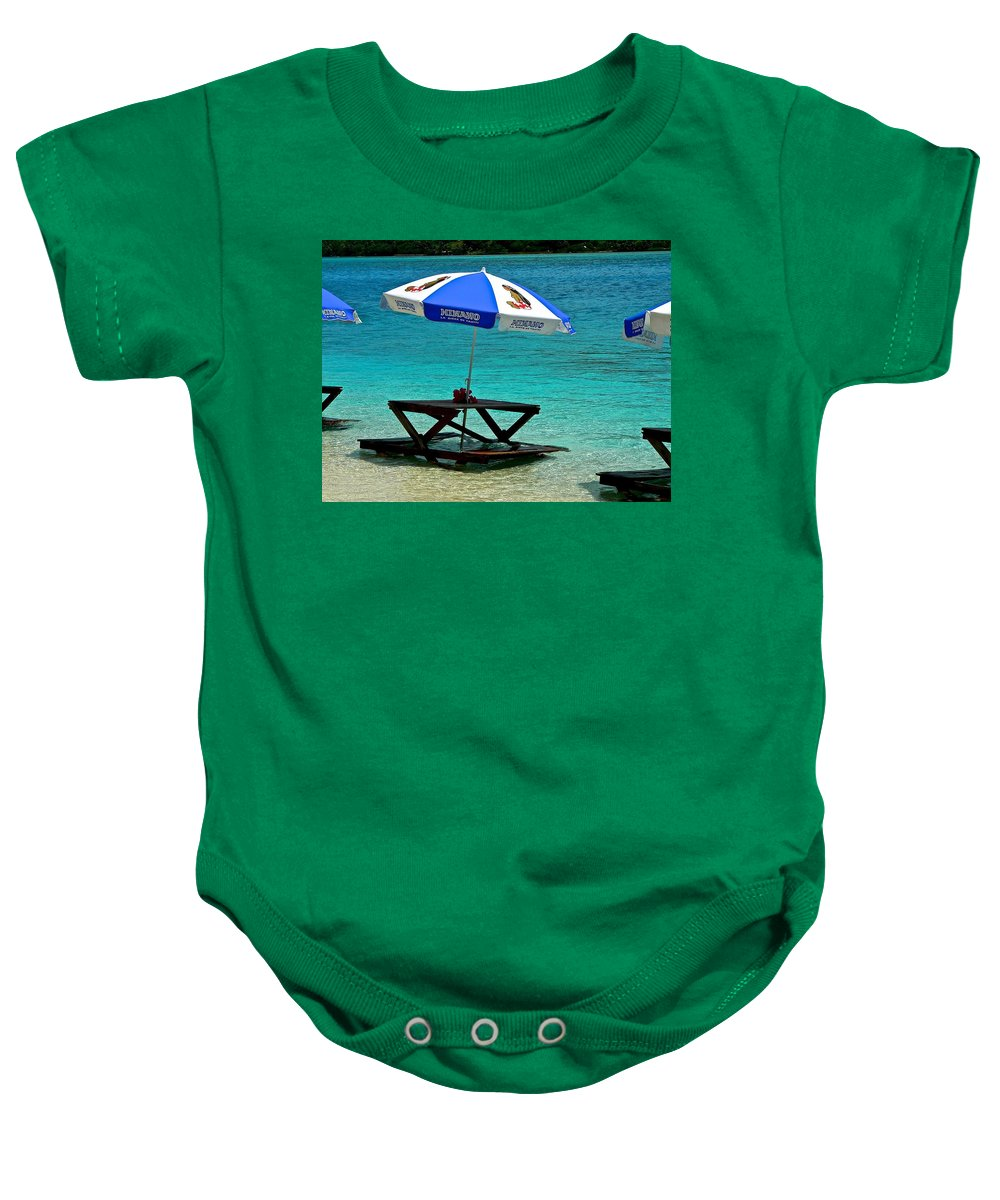 French Polynesia Baby Onesie featuring the photograph Remedy For High Blood Pressure by Eric Tressler