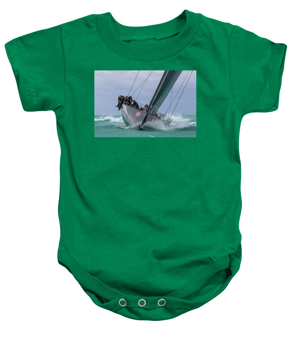Sail Baby Onesie featuring the photograph Center Of Attention by Steven Lapkin